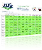 Web Development Project | Online Super Bowl Squares