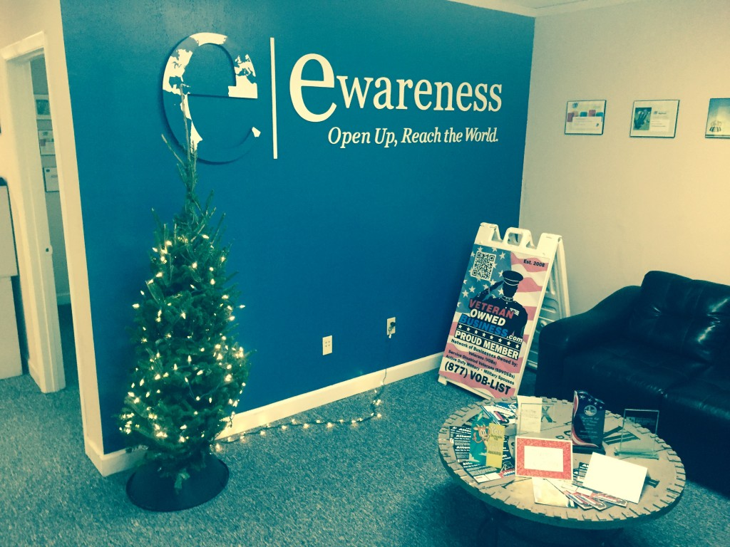 eWareness' front lobby area